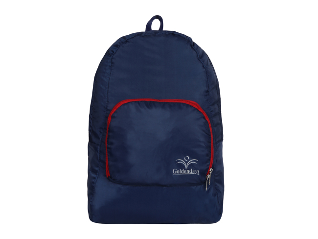 goldendays foldable backpack 190 blue and red
