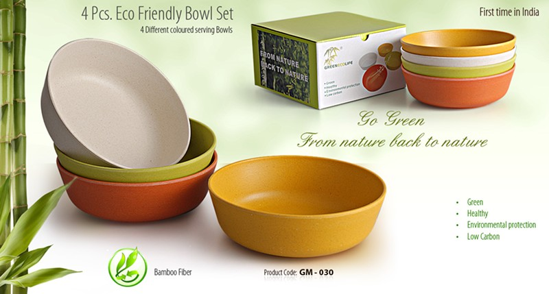 GM- 030 4 Pcs. Rco Friendly Bowl Set