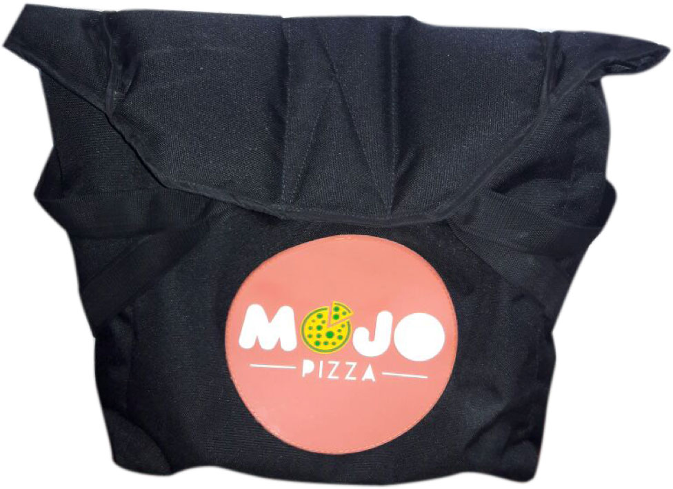 Mojo Pizza bag