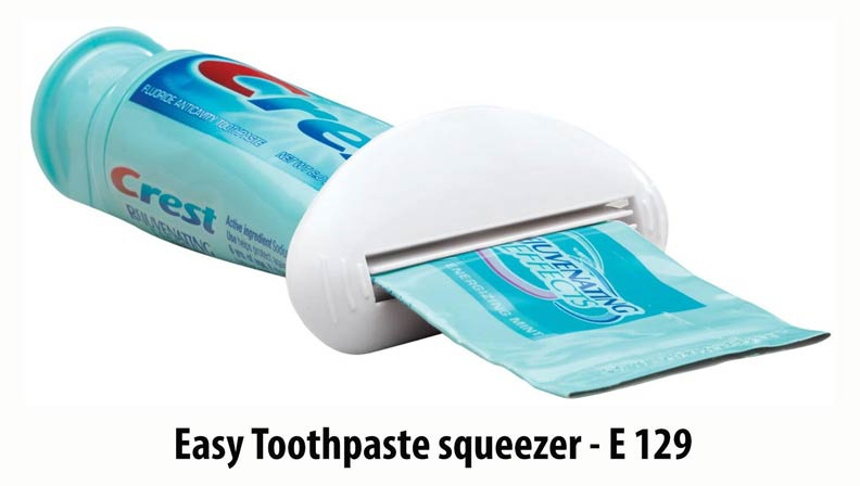 E129 - Easy Toothpaste squeezer