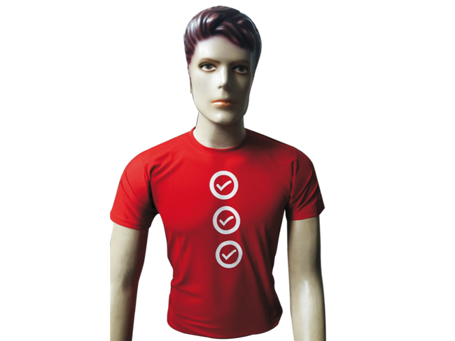 Eurothermal red T-shirt