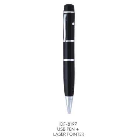 IDF 8197(USB PEN+LASER POINTER)