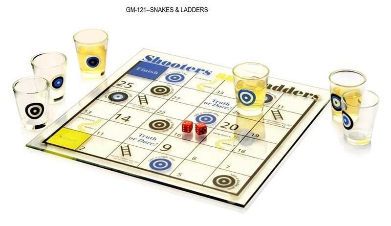 121 Snakes & Ladders