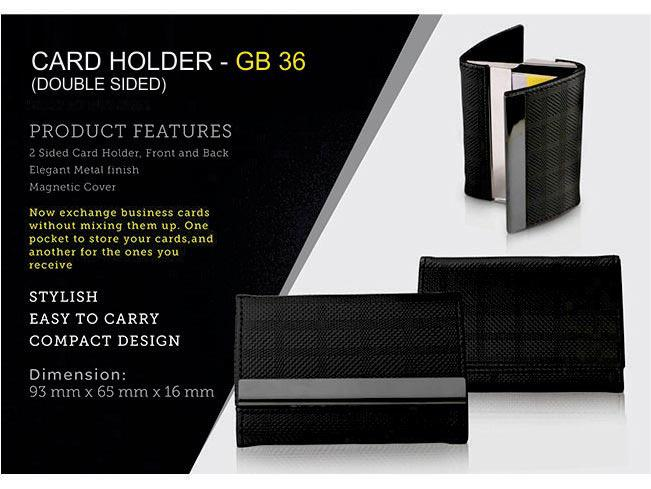 GB36 - Double side card holder