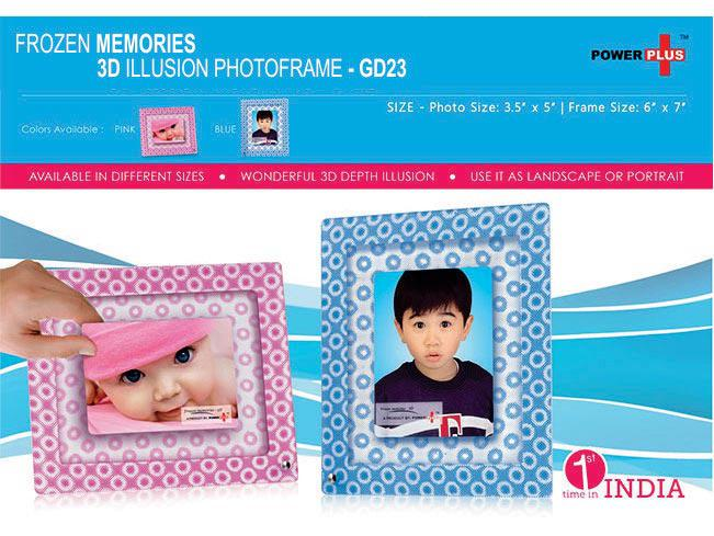 GD23 - Frozen memories - 3D photo frame (3.5 x 5)