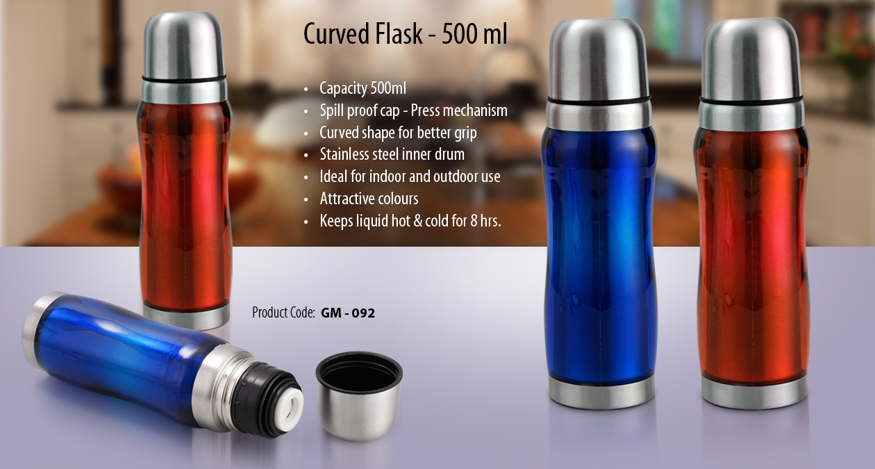 500 ML CURVED FLASK